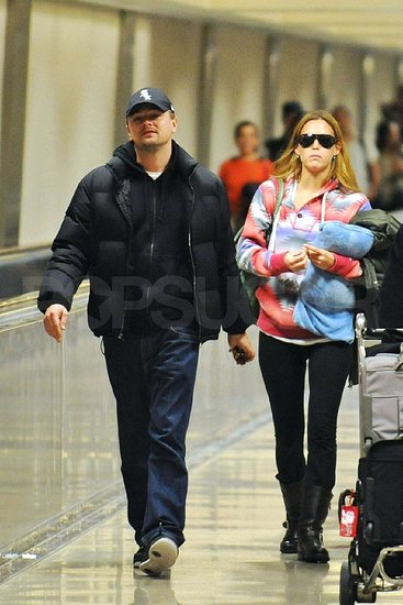 Leonardo DiCaprio and Bar Refaeli in NYC