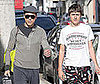 Photo of Robert Downey Jr and His Son Indio Out in LA