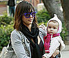 Photo of Jessica Alba at the Park with Her Daughter Honor
