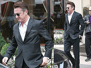 Photos of Sean Penn Out and About in Paris