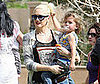 Photo of Gwen Stefani and Kingston Rossdale out in LA