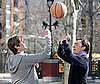 Photo of Chace Crawford and Ed Westwick Filming Gossip Girl in NYC