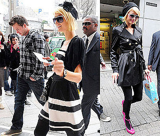 Photos of Paris Hilton and Doug Reinhardt in Tokyo