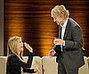 Photo of Jennifer Aniston and Owen Wilson on the German Show Wetten Dass?