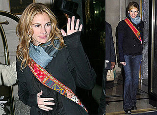 Photos and Quotes of Julia Roberts in NYC, Talking About Duplicity with Clive Owen