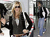 Jennifer Aniston at Heathrow