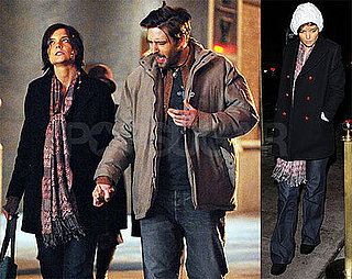 Photos of Katie Holmes Filming The Extra Man in NYC, Lindsay Lohan Upset Katie Was On Glamour Cover