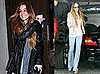 Photos of Lindsay Lohan at the Chateau Marmont in LA