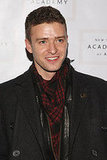 Justin Timberlake and Liev Schreiber at Tribeca Ball