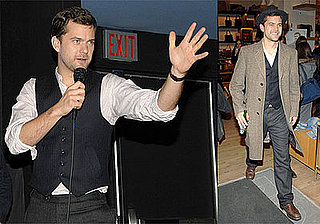 Photos of Joshua Jackson Promoting One Week in Toronto, Talking About His Love For Diane Kruger