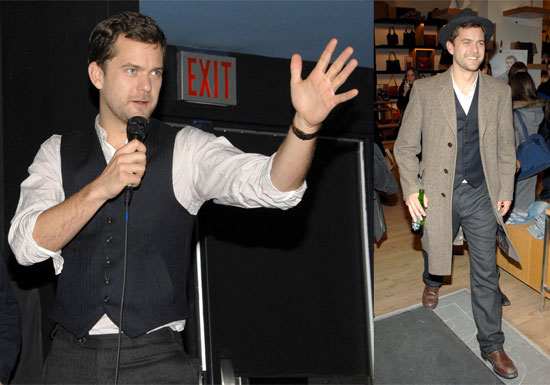 Joshua Jackson in Toronto