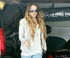 Photo of Lindsay Lohan Arriving at the Chateau Marmont
