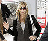 Photo of Jennifer Aniston at London's Heathrow Airport