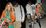 Jessica Simpson and Tony Romo at LAX