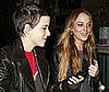 Photos of Lindsay Lohan and Samantha Ronson Leaving the Palms in LA