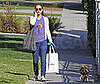 Photo of Natalie Portman Walking Her Dog in LA 2009-03-09 15:00:00