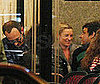 Photo of Kate Moss, Jamie Hince, and Terry Richardson at Paris's  Cafe de Flore