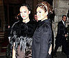 Photo Jessica Alba and Eva Mendes in Paris for Miu Miu