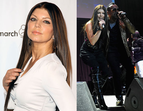 Fergie Goes Dark