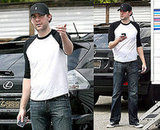 John Krasinski On the Set