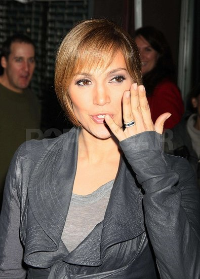 Jennifer Lopez and Her Ring