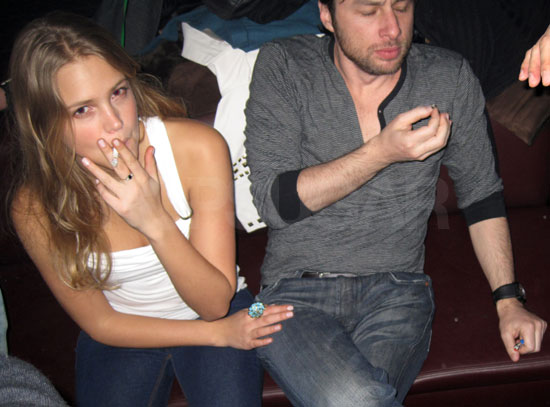 Zach Braff Smoking Pott