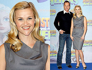 Photos of Reese Witherspoon and Kiefer Sutherland in Berlin Promoting Monsters vs. Aliens