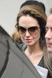 Angelina Jolie Filming Salt in NYC