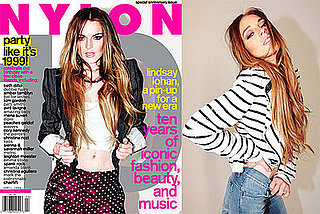 Photos and Quotes of Lindsay Lohan in April's Nylon