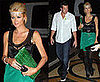 Photos of Paris Hilton Dressed in Green For St. Patrick's Day