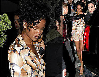 Photos of Rihanna Without Sunglasses at Les Deux