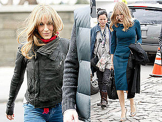 Photos of Sarah Jessica Parker on the Set of Did You Hear About the Morgans?