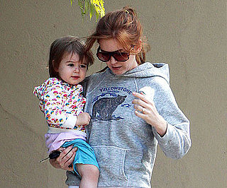 Photo of Isla Fisher and Olive Cohen Out in LA