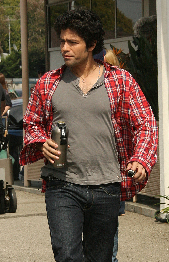 On the Set of Entourage