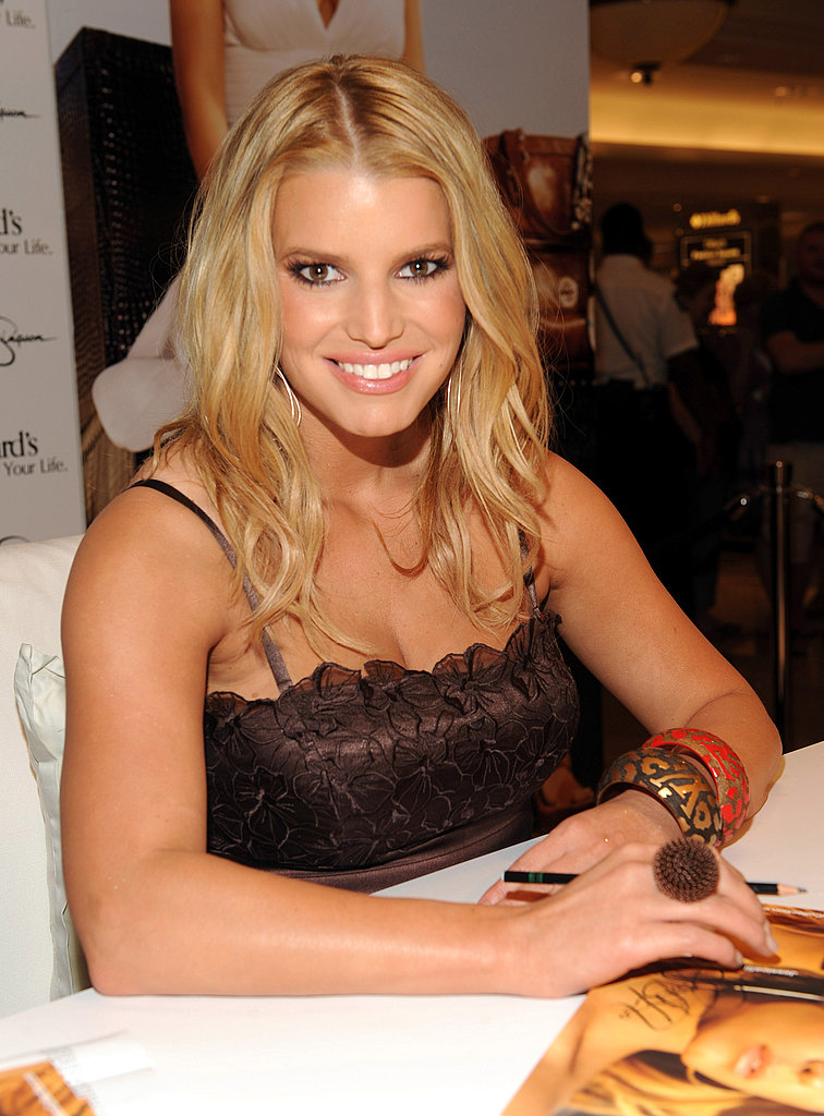 Jessica Simpson Promoting Fancy