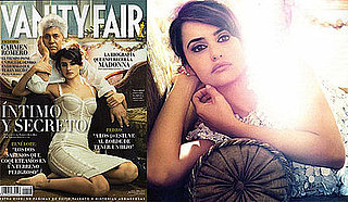Photos of Penelope Cruz and Pedro Almodovar in Spanish Vanity Fair