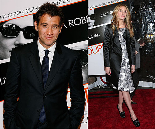 Photos of Julia Roberts and Clive Owen at NYC Premiere of Duplicity