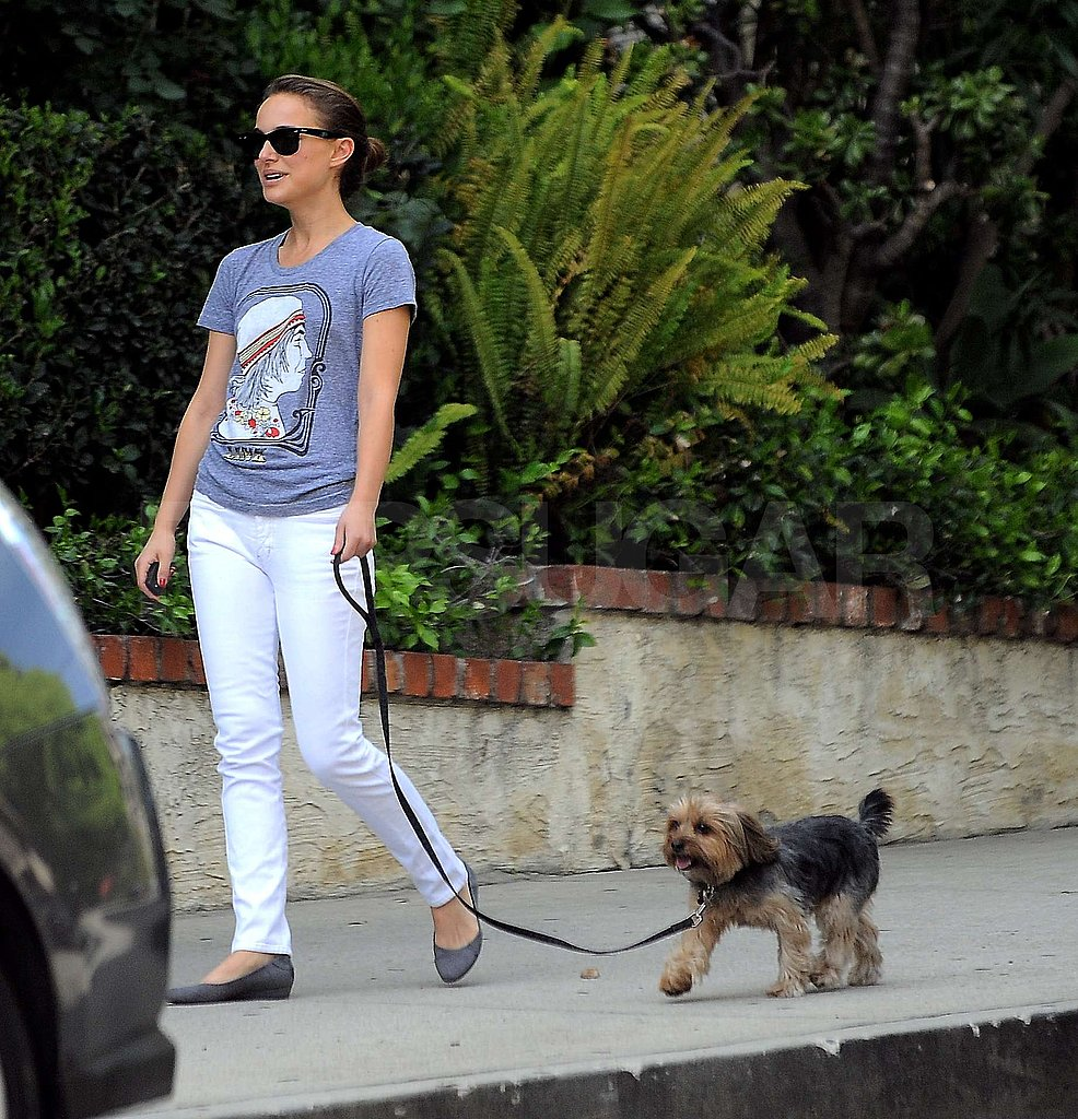 Natalie and Her Dog