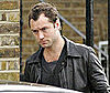 Photo of Jude Law Leaving His London Home