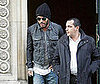 Photo of Lenny Kravitz Leaving an Office Building in Paris
