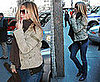 Jennifer Aniston Arrives on the Set