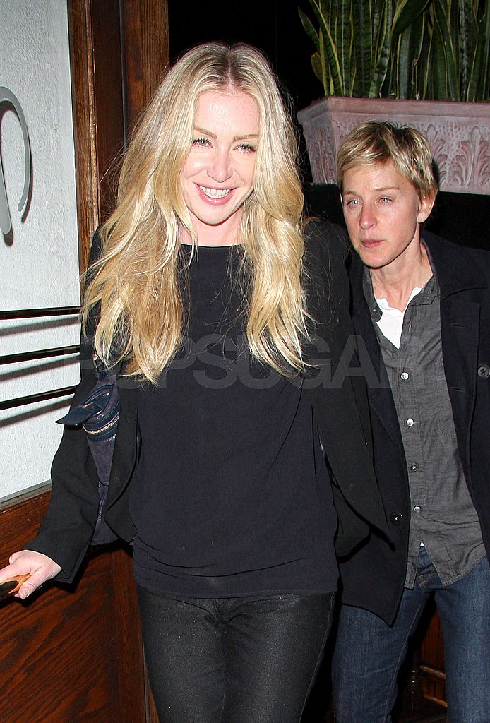 Ellen and Portia Go To Dinner