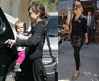 Photos of Jessica Alba and Honor Warren in LA 2009-03-25 04:00:00