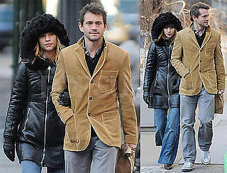 Photos of Claire Danes and Hugh Dancy Walking in NYC