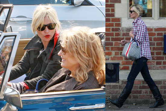 Kate and Mom Moss
