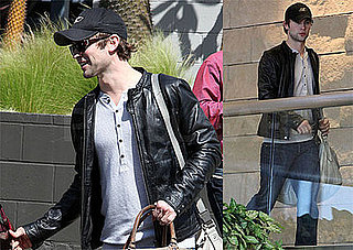 Photos of Chace Crawford in LA, Reportedly Trying Out For Footloose Remake
