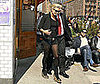 Photo of Kate Moss Leaving Lunch at Pastis in NYC