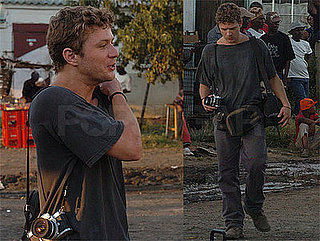 Photos of Ryan Phillippe Filming The Bang Bang Club in South Africa