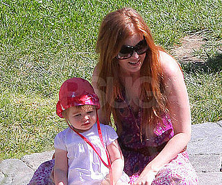 Photo of Isla Fisher and Olive Cohen in LA