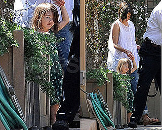 Photos of Katie Holmes and Suri Cruise in LA 2009-04-01 07:05:00